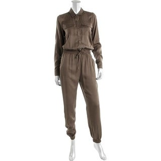 Two by Vince Camuto Womens Tencel Jogger Jumpsuit - XS