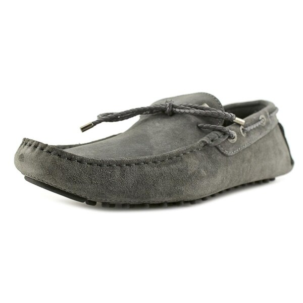 CR7 Rumba Men Moc Toe Suede Gray Loafer