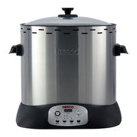 Nesco ITR-01 Upright Turkey Roaster, 1420 Watt, Silver