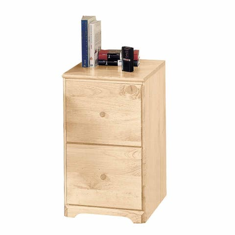File Cabinet Country Pine 26.5h 2 Drawer Renovator's Supply