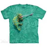 Climbing Chameleon T-Shirt by The Mountain - Youth