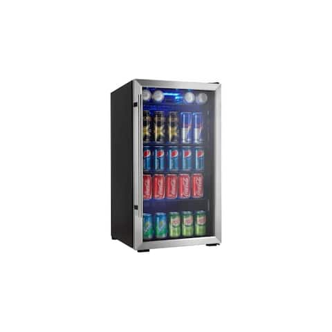 "Danby DBC93DD 18"" Wide 3.3 Cu. Ft. Capacity Beverage Center with 120 Can Capacity from the Designer Series -"