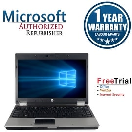 "Refurbished HP EliteBook 8440P 14"" Laptop Intel Core i5-520M 2.4G 4G DDR3 1TB DVD Win 10 Pro 1 Year Warranty"