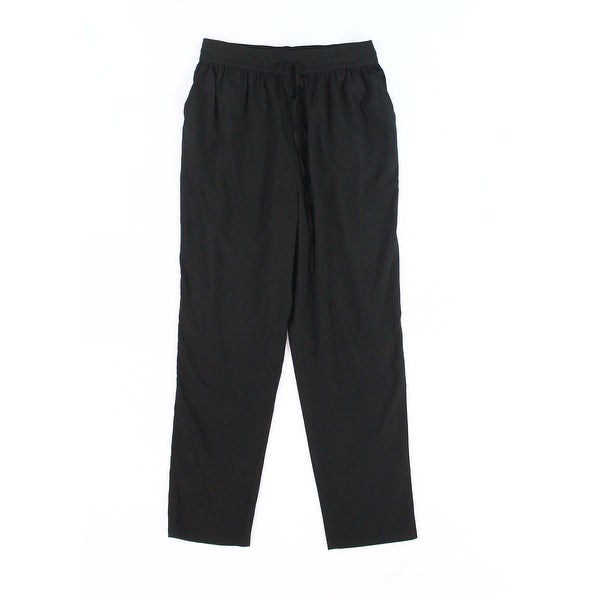ABound Black Women's Size Small S Drawstring Soft Solid Pants