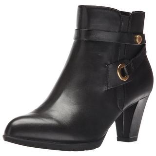 Anne Klein Women's Chelsey Leather Western Boot
