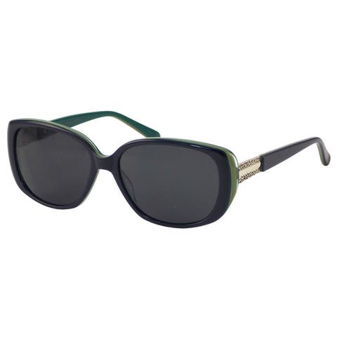 Elizabeth Arden Sunglasses for Women Navy Plastic Cat Shape Sunglasses 5235-2 - Navy blue