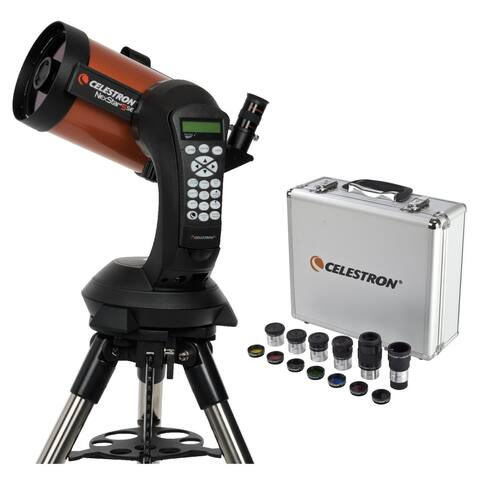 Celestron Nexstar 5SE Schmidt-Cassegrain Telescope and Eyepiece Accessory Bundle