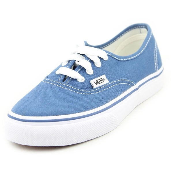 32b680a7eb97f3 Shop Vans Authentic Boy Navy Athletic Shoes - Free Shipping On ...