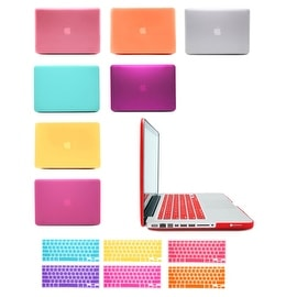 "2 in 1 Rubberized Hard Matte Case Cover For Macbook Pro 13"" + Keyboard Skin ( A1278 )"