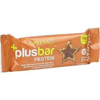 Greens Plus - Chocolate Protein Bar ( 12 - 2.08 OZ)