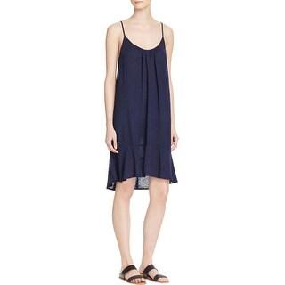 Velvet Womens Tank Dress Tunic Knee-Length