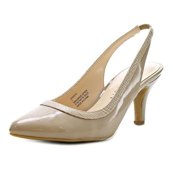 Karen Scott Gredta Women Pointed Toe Synthetic Slingback Heel