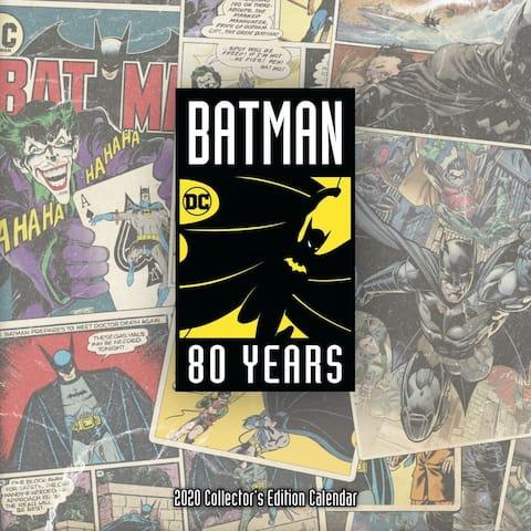 Trends International, 2020 Batman 80th Anniversary Collectors Wall Calendar