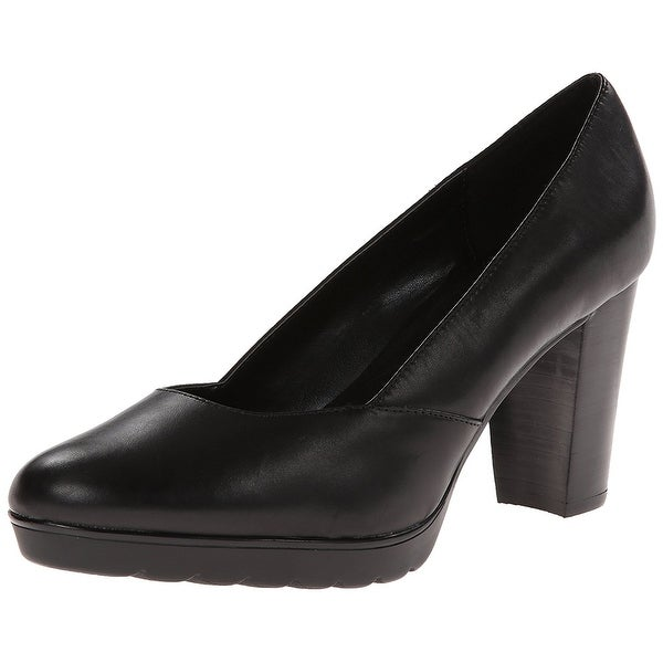 Bella Vita Womens Zari Leather Closed Toe Classic Pumps
