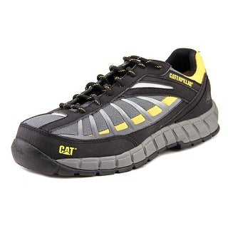 Caterpillar Infrastructure Men Steel Toe Synthetic Work Shoe