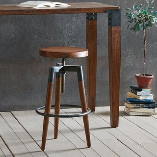 Link to INK+IVY Frazier Brown Adjustable Counter Stool/ Barstool Similar Items in Dining Room & Bar Furniture