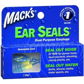 Mack's Ear Seals Dual Purpose Earplugs 1 Pair