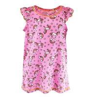 Rene Rofe Toddler Girls Rainbow Unicorn Night Shirt Gown