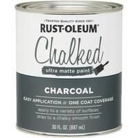 Rust-Oleum Charcoal Chalked Paint 285144 Unit: QT