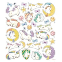 Multicolored Stickers-Unicorn Fantasy