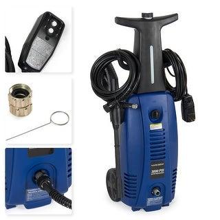 Arksen 3000 PSI Burst Power Electric High Pressure Washer 2000 Watt Motor, BLUE