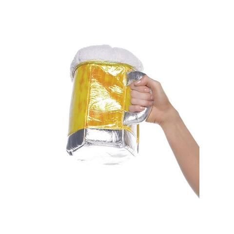 Leg Avenue Beer Stein Purse - Yellow