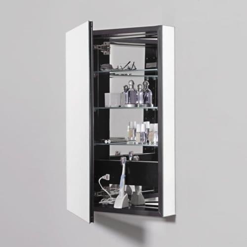 """Robern PLM2430G PL Series 23-1/4"""" Single Door Medicine Cabinet"""