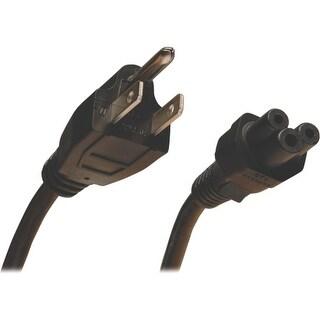 Tripp Lite P013-003 Tripp Lite Standard Laptop/Notebook Power Cord, 10A (NEMA 5-15P to IEC-320-C5), 3-ft. - For Notebook - 125 V