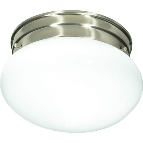 Nuvo Lighting 76/601 1 Light Flush Mount Indoor Ceiling Fixture - 7.5 Inches Wide