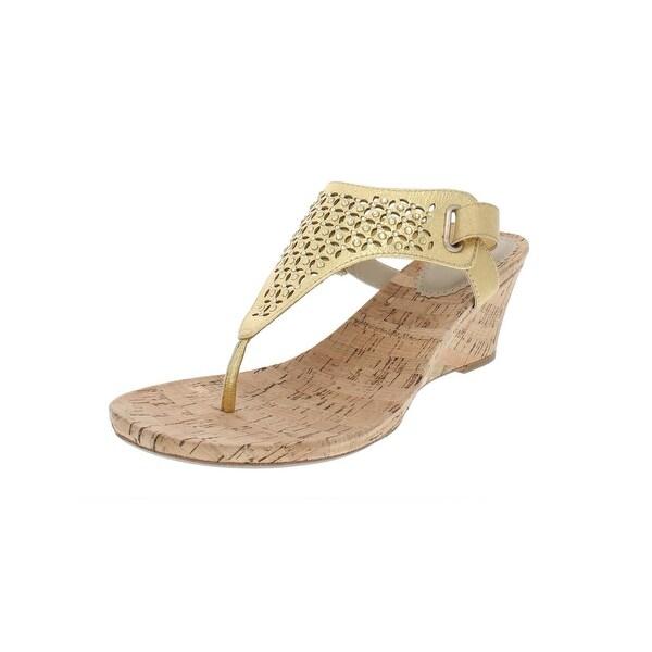 Shop White Mountain Womens Arnette Wedge Sandals