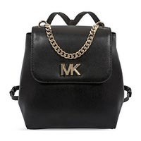 43d4c3a2661c Shop Michael Kors Evie Pebbled Leather Medium Backpack in Optic ...