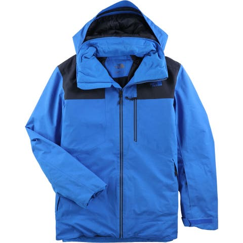 The North Face Mens Maching Raincoat, Blue, X-Large
