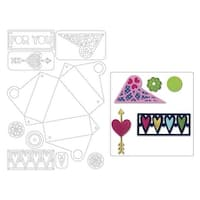 Sizzix RBright Thinlits Die Box Triangle