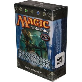 Magic: The Gathering Dissension - Simic Mutology Theme Deck - multi