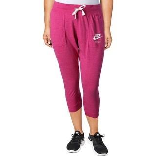 Nike Womens Gym Vintage Capri Pants Vintage Graphic - XL