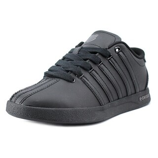 K-Swiss Court Pro Round Toe Leather Sneakers