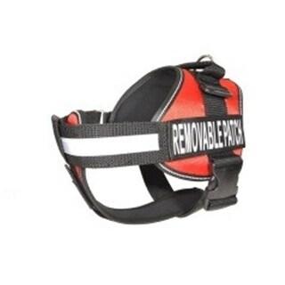Dogline N0200-3 15-19 in. Unimax Multi Purpose Dog Harness, Red