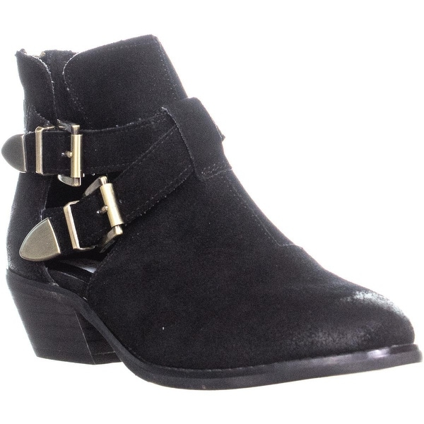 773c4006ef9 Shop Steve Madden Cinch Open Side Ankle Boots, Black - Free Shipping ...