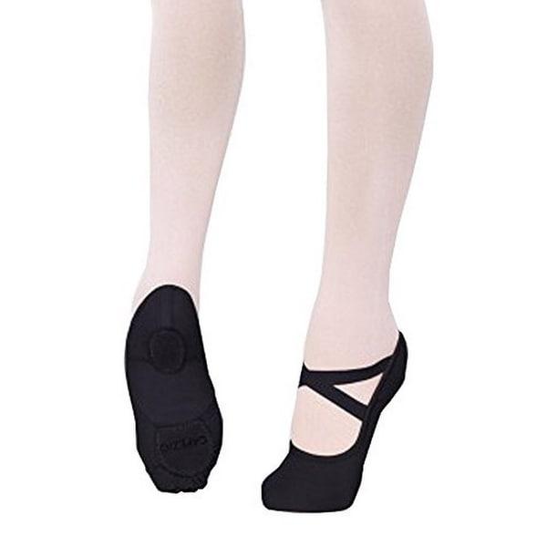 Capezio Adults Hanami Ballet Shoes, Black, 10M