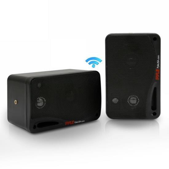 """3.5"""" Waterproof Bluetooth Speakers, 3-Way Marine Grade Speaker System, 200 Watt (for Mobile/Vehicle)"""