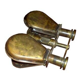 Old Modern Handicrafts ND027 Folding Binocular in wood box
