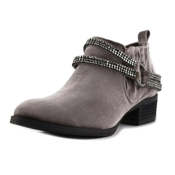 Not Rated Nellie Women Round Toe Canvas Tan Bootie