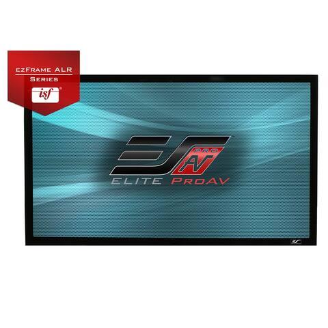 "Elite Screens ezFrame CineGrey 5D 180"" Projector Screen - Black"