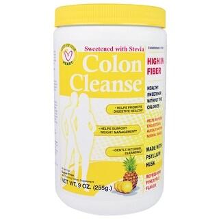 Health Plus Colon Cleanser Stevia Pineapl 9-ounce