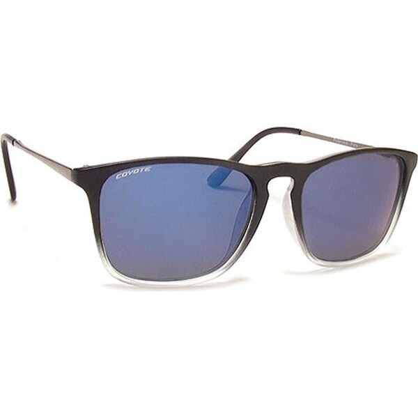 494d2f20df6 Shop Coyote Eyewear Polo Polarized Streetstyle Sunglasses Black Clear  Frost Grey Blue Mirror - US One Size (Size None) - Free Shipping Today -  Overstock.com ...