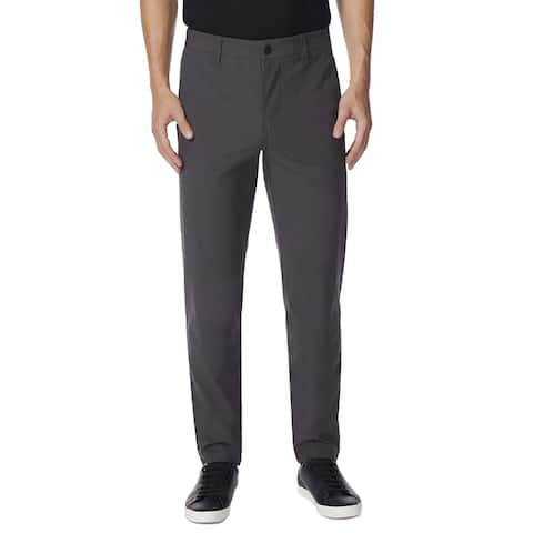32 DEGREES Men's Neo Flex Straight Slim FIT PANTS-COAL-42