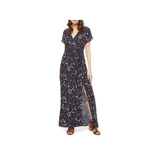 Sanctuary Womens CoCo Maxi Dress Floral Print Long