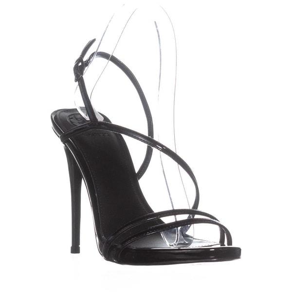 GUESS Tilda Buckle Ankle Strap Sandals, Black
