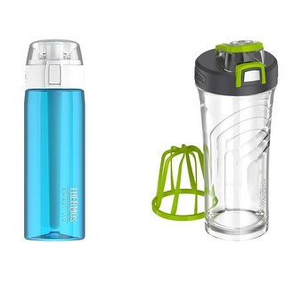 Thermos Connected Hydration Water Bottle with Smart Lid and Shaker Bottle
