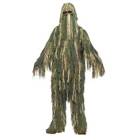 Boys Ghillie Suit Military Halloween Patriotic Costume